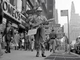 "Another May 1954 Mayfair Theatre street promotion for ""Johnny Guitar""starring Joan Crawford."