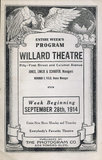 WILLARD Theatre; Chicago, Illinois.