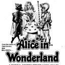"AD FOR ""ALICE IN WONDERLAND"" SHERATON THEATRE & NORTHWEST DRIVE IN"