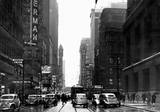 Looking East on Randolph 1941. Apollo marquee on the left, photo courtesy of Tim O'Neill.