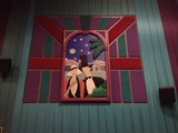 "Theater 15 Mural - ""Couple on Date"""