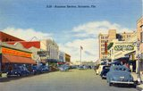 Mid century postcard courtesy of the Signs, Streets and Storefronts by Martin Treu Facebook page.