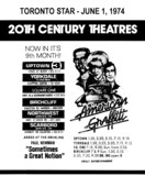 "AD FOR ""AMERICAN GRAFFITI"" - SCARBORO DRIVE-IN & OTHER THEATRES"