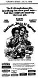 """AD FOR """"MOTHER, JUGS AND SPEED"""" - THE CINEMA AND OTHER THEATRES"""