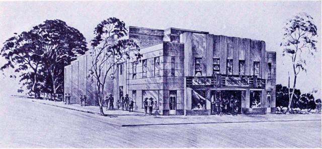 Movie theatre morganton