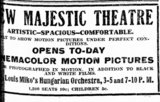 December 16th, 1911 grand opening ad