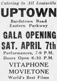 April 1st, 1928 grand opening ad