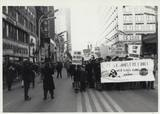 Anti Viet-Nam War Protest March 1966, photo credit Saul Smaizys.