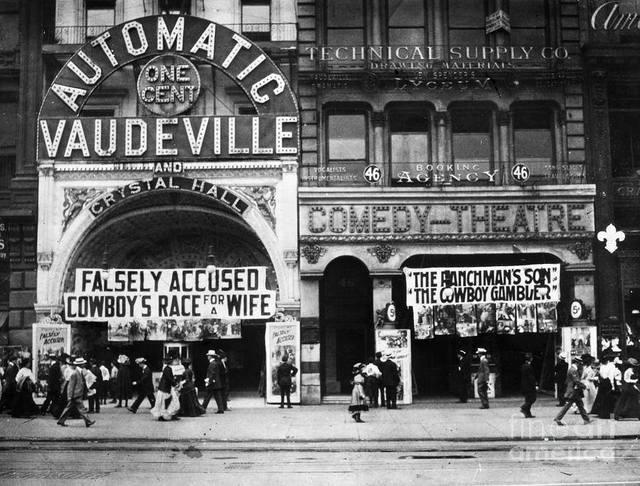 Circa 1911 photo courtesy of Fine Art America.
