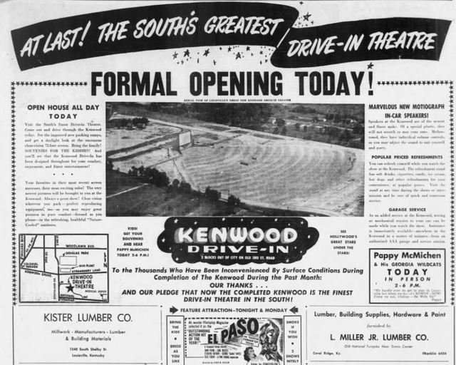 July 31st 1949 Grand Opening Ad