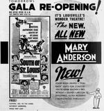 April 15th, 1949 grand re-opening ad