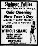 January 1st, 1965 reopening ad as an adult cinema.