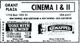 April 7th, 1972 ad as Grant Plaza