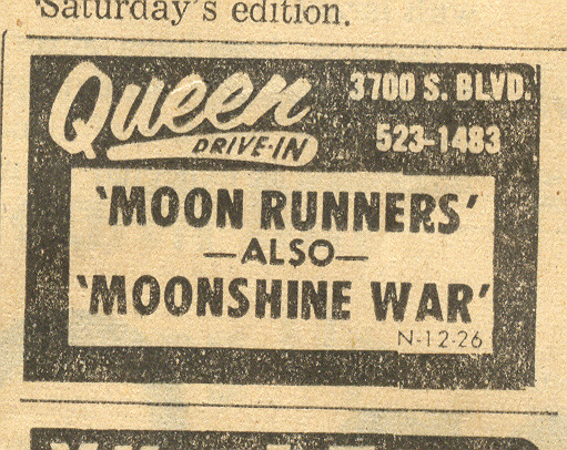 Queen Drive In ad