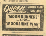 """[""""Queen Drive In ad""""]"""