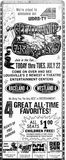 July 18th, 1975 grand opening ad for the Raceland and Westland cinemas