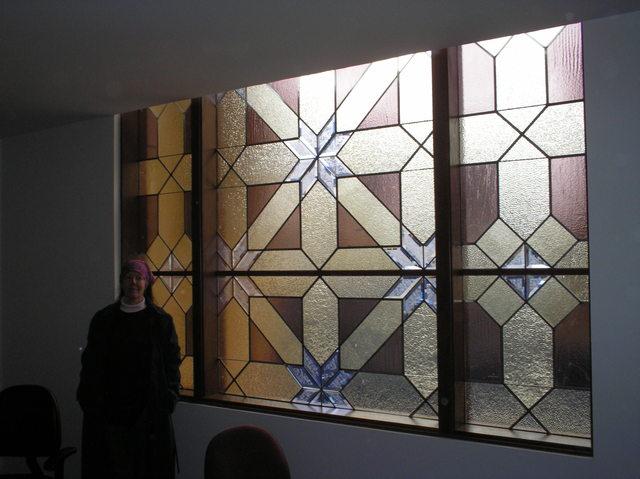 Window, lower portion