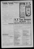 July 1918 Lake Shore News newspaper with a Hoyburn print ad, courtesy of Jennifer Sherman Yonesawa.