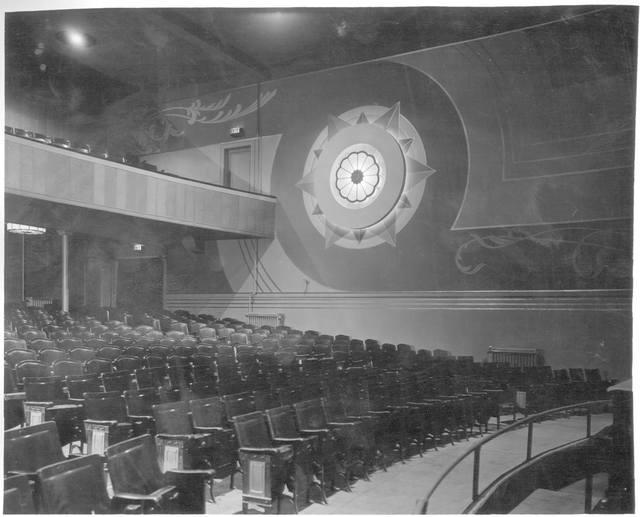 Undated interior photo courtesy of the Silco Theatre Facebook page.