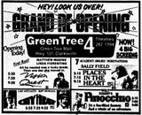 February 15th, 1985 grand opening ad as Green Tree