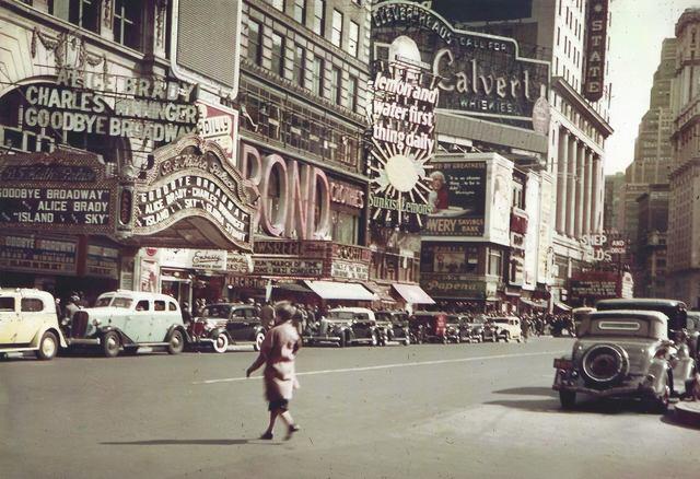1938 photo courtesy of Al Ponte's Time Machine - New York ...