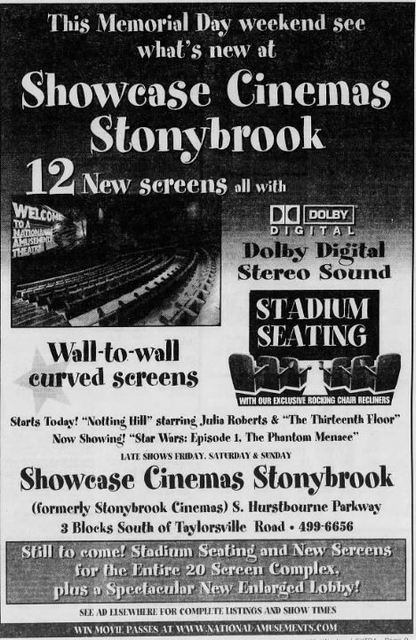 May 28th, 1999 grand opening ad