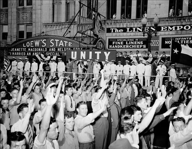 1942 photo credit UT Briscoe Center.