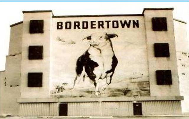 Bordertown Drive In street view