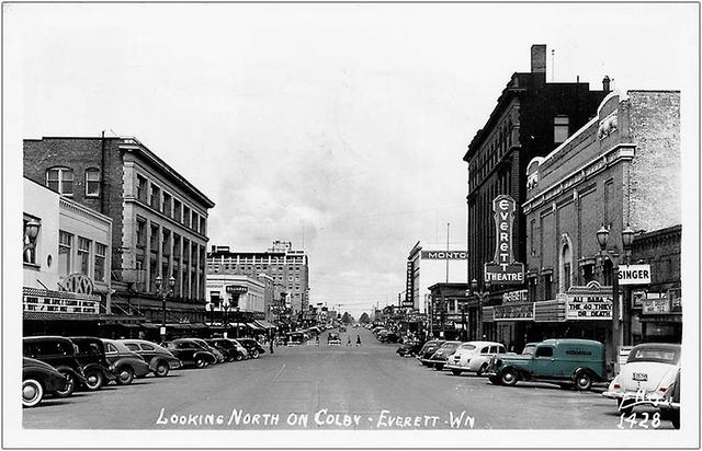 Everett & Roxy Theatres ... Everett Washington