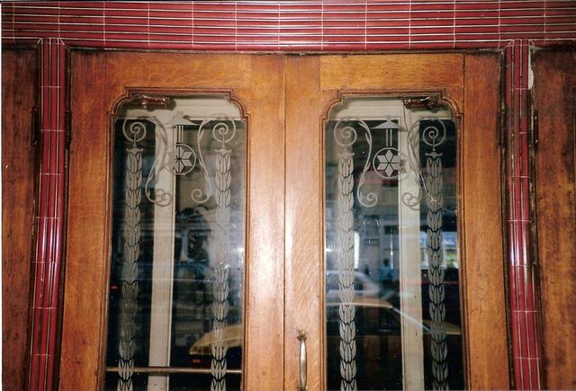 Detail of doors
