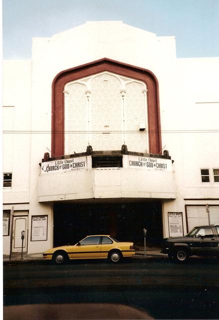 Harding facade
