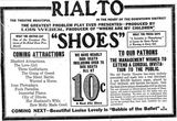 July 2nd, 1916 grand opening ad as Rialto