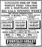 May 6th, 1928 grand opening ad