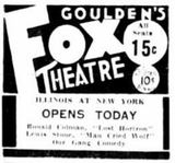 December 25th, 1937 grand opening ad