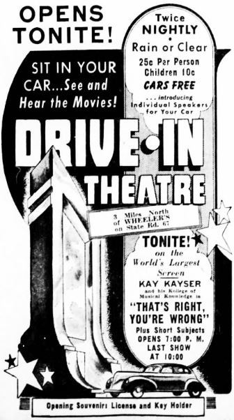June 6th, 1940 grand opening ad