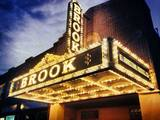 The Brook Arts Center restored marquee