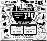 Ad for the Zoo from July 15th, 1956
