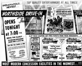 June 13th, 1962 grand opening ad as Northside Drive-In