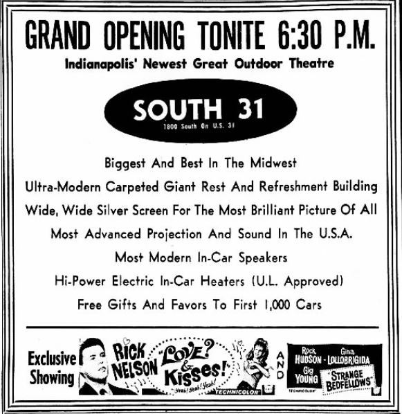 September 29th, 1965 grand opening ad