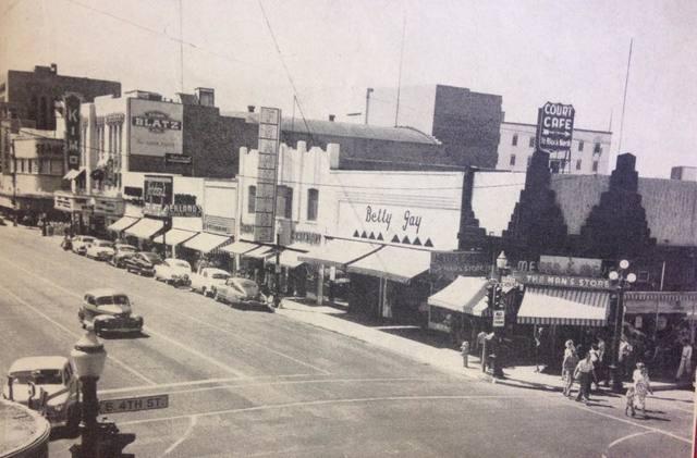 1940's photo credit Don J Akin.