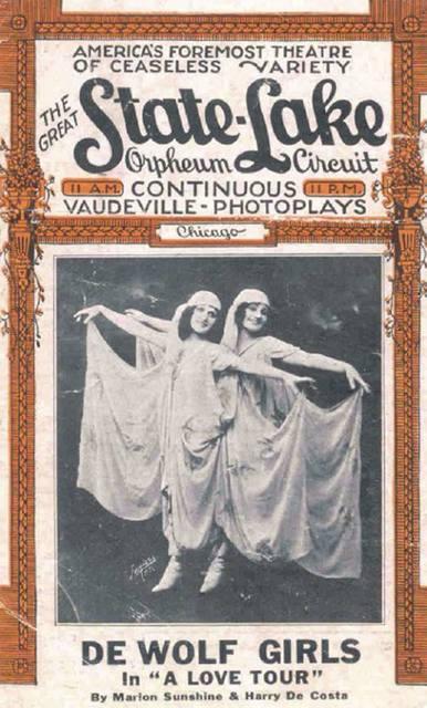 1920 program courtesy of Glen Miller.