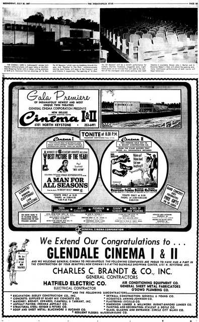 July 26th, 1967 grand opening ad
