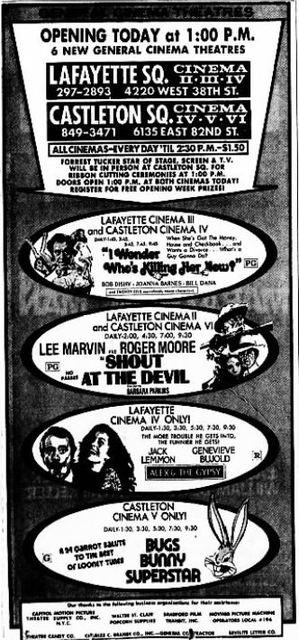 November 5th, 1976 grand opening ad