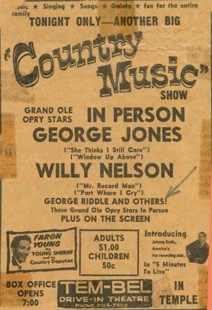 1961 print ad courtesy of Gene Watson.