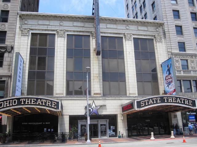Ohio Theatre (Cleveland), Front Facade