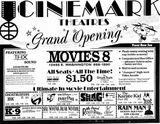 September 1st, 1989 grand opening ad