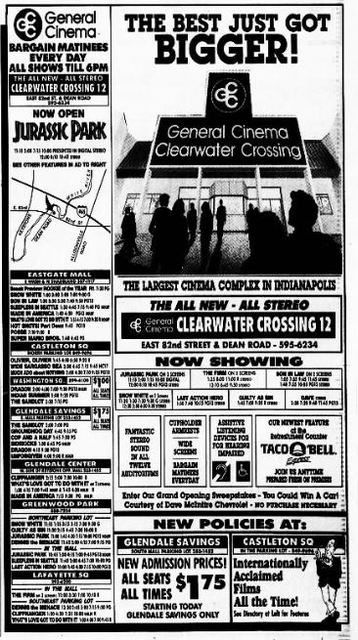 July 2nd, 1993 grand opening ad