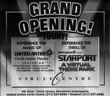 September 8th, 1995 grand opening ad