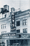 <p>Grand opening shot of the Loew's Plaza Theatre in 1927.</p>