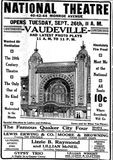 September 24th, 1911 grand opening ad